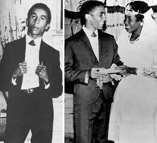 Bob Marley wedding photos