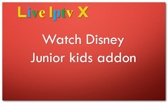 Watch Disney Junior kids addon