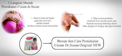 Cara Pemakaian Cream dr Susan yang Benar