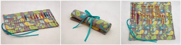 The Chilly Dog | Shop for handmade knitting needle cases, crochet hook cases and project bags