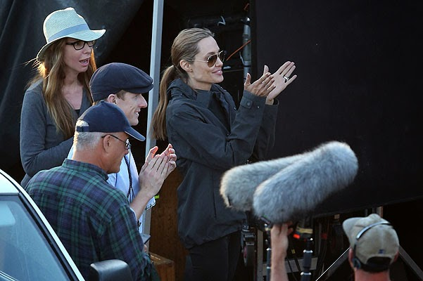 Angelina Jolie, new footage