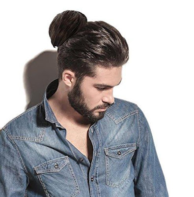 Clip In Man Hairbun