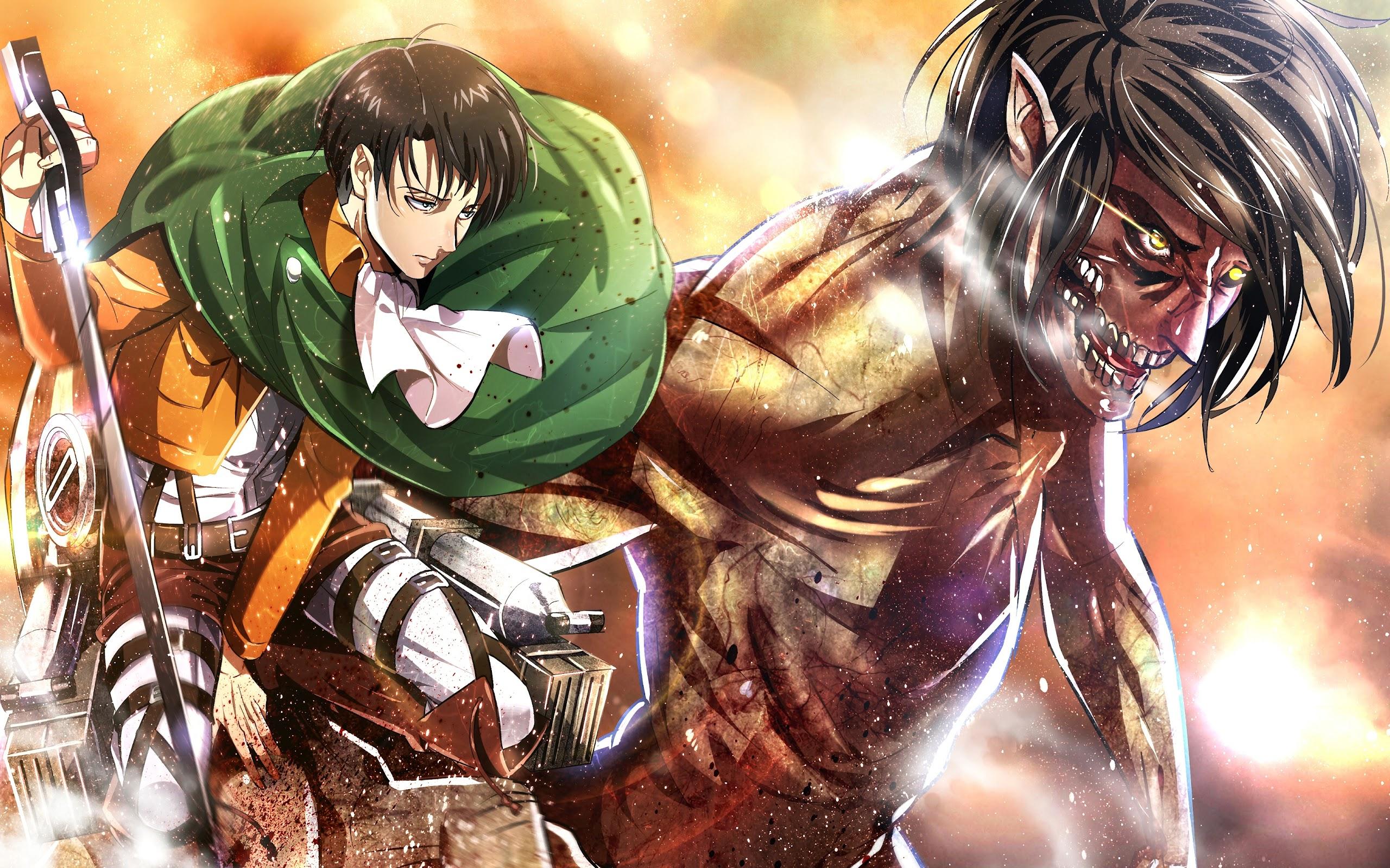 Levi Attack Titan Attack On Titan 4k Wallpaper 141