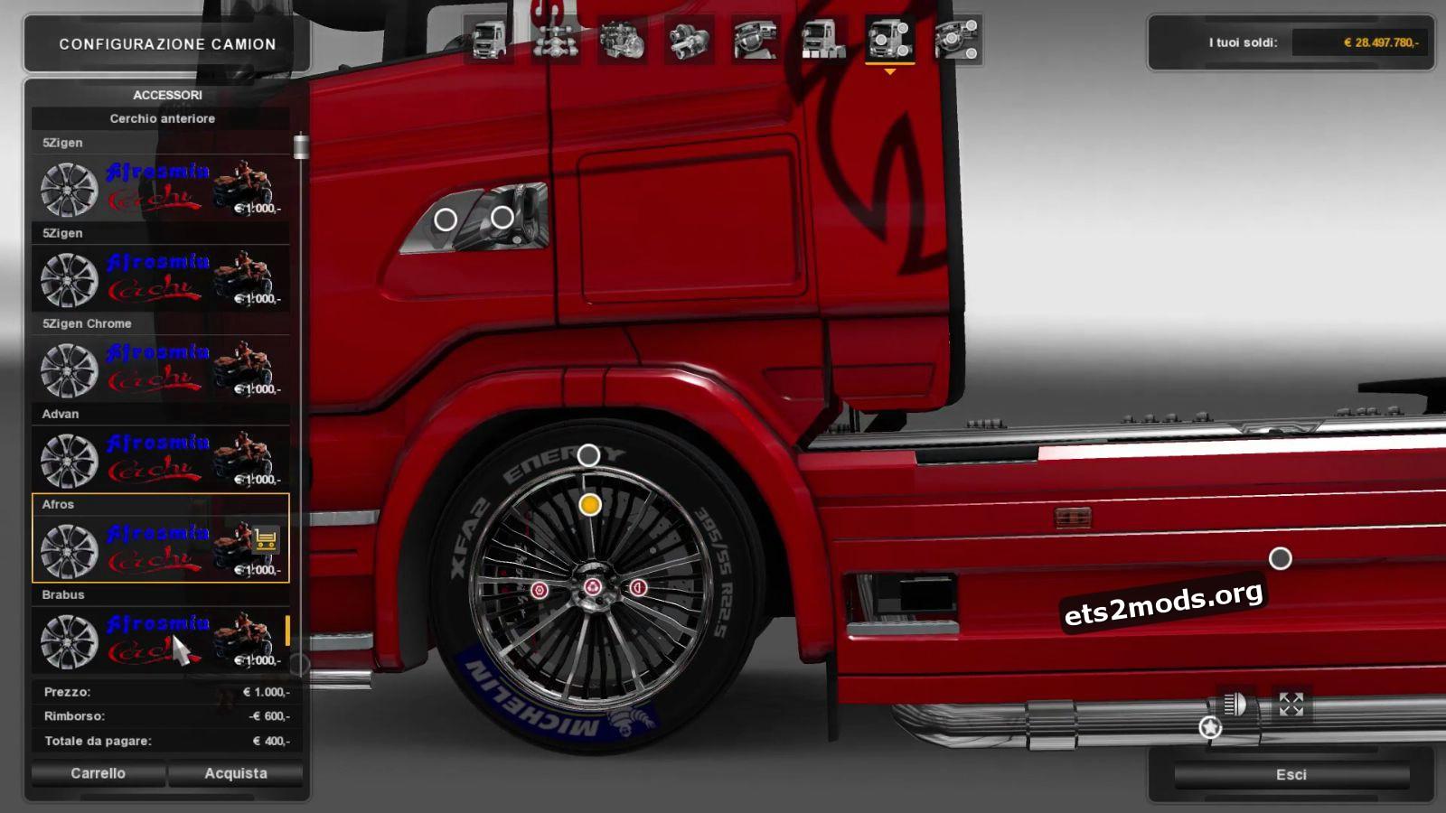 Alloy Wheels Mod v 1.2. by Afrosmiu