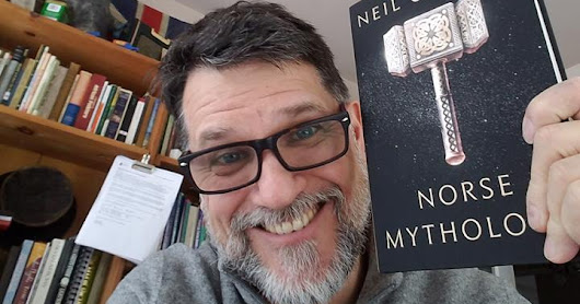 Stories, and more stories - Norse Mythology by Neil Gaiman and Patakin by Nina Jaffe