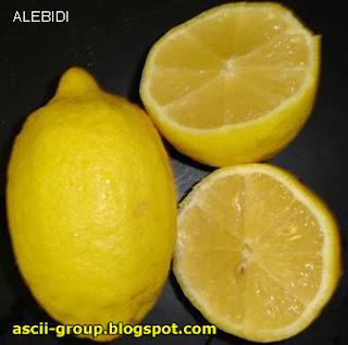 الليــمون Lemonz تأثيراته وإستخداماته