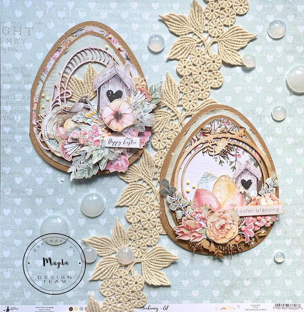 Kartka Wielkanocne Jajo - Easter Egg card