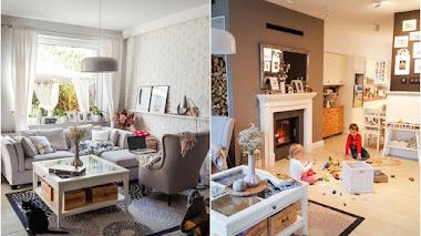 El hogar familiar de la blogger simply about home
