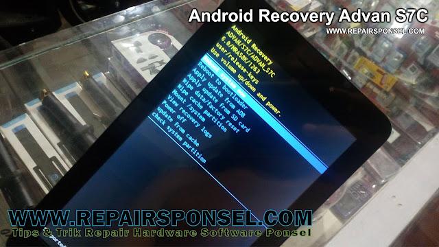 Cara Masuk Android Recovery Advan S7C