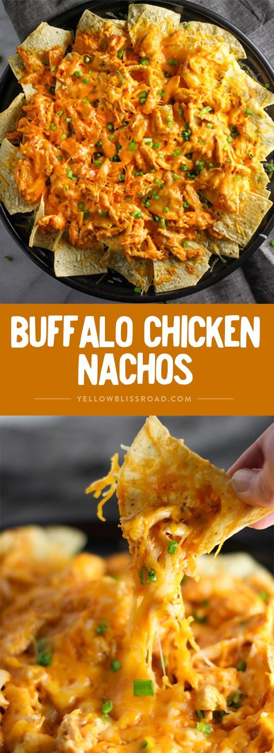 Buffalo Chicken Nachos Recipe
