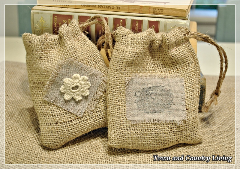 burlap bag craft ideas how to make burlap bags town amp country living 3481
