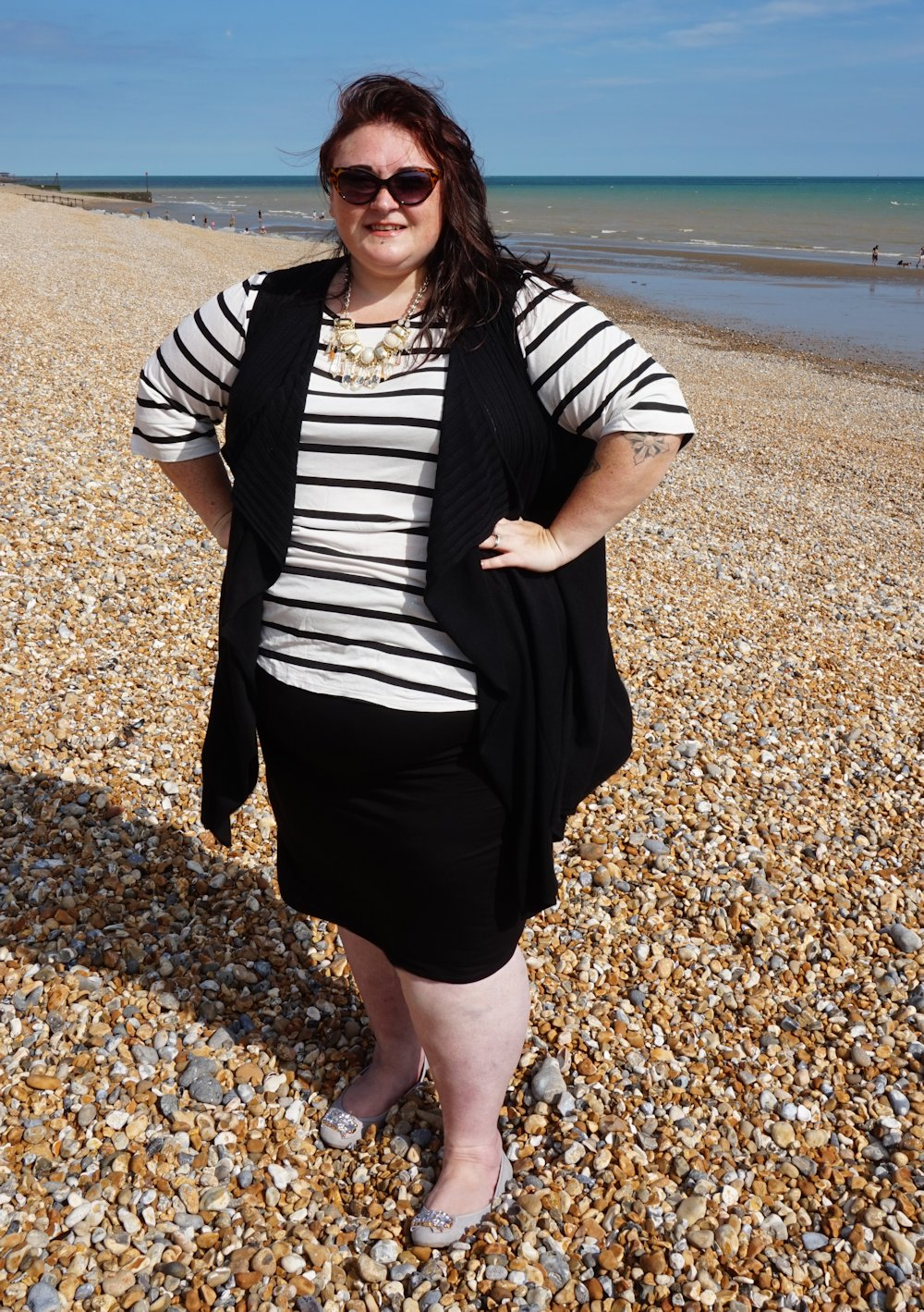 George at Asda over bump maternity skirt size 24 // www.xloveleahx.co.uk
