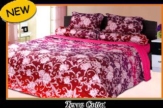 Sprei & BedCover Impression - Terra Cotta
