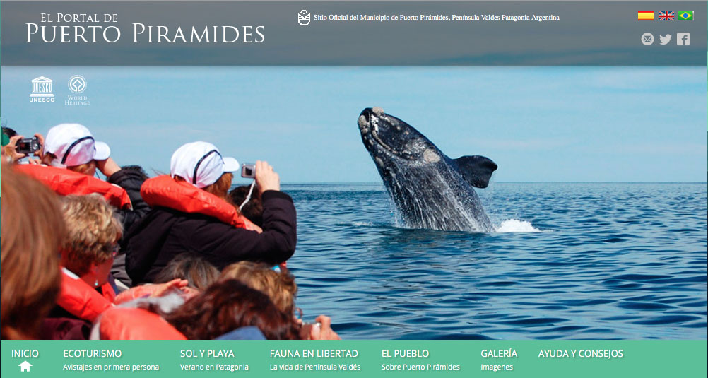 launch of the Whale Watching Season Puerto Piramides