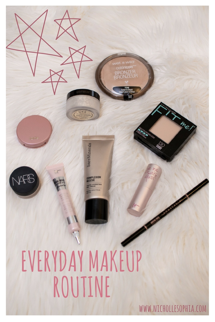 N I C H O L L E S O P H I A Everyday Makeup Routine