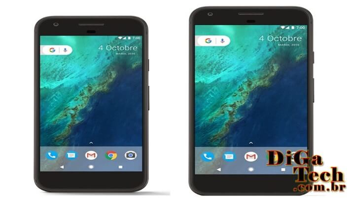 Smartphones Google Pixel e Pixel XL