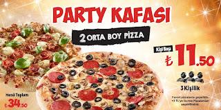 pizza hut eve servis fırsat ve kampanyaları
