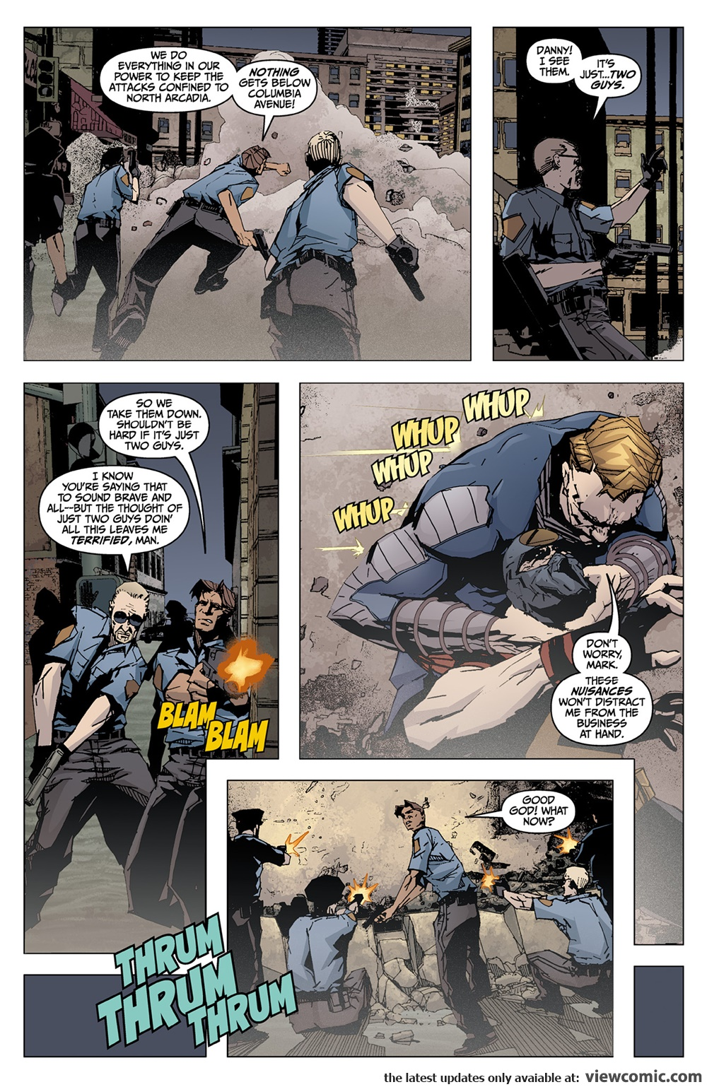 X 022 – Marked for Death 02 (2015) …………… | Viewcomic reading