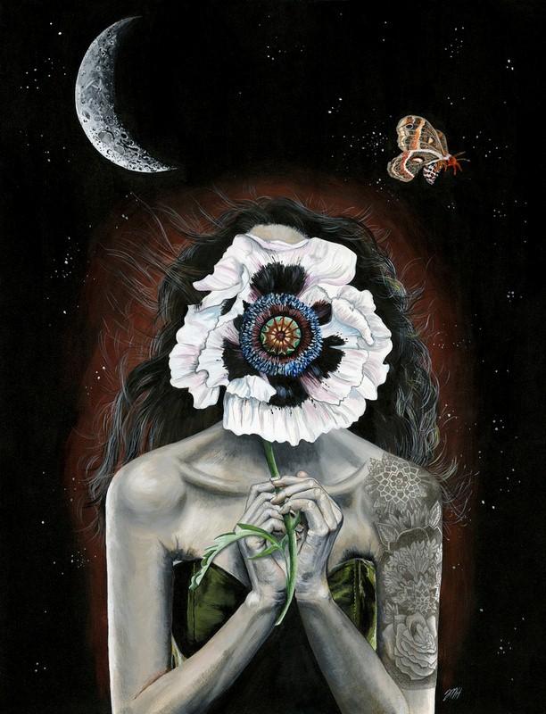 Притягательные и тревожные рисунки Мелиссы Хартли (Melissa Hartley) 13