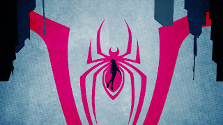Spider-Man Into The Spider Verse Mobile Background