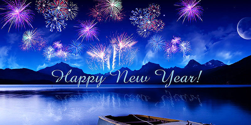 free happy new year screensavers
