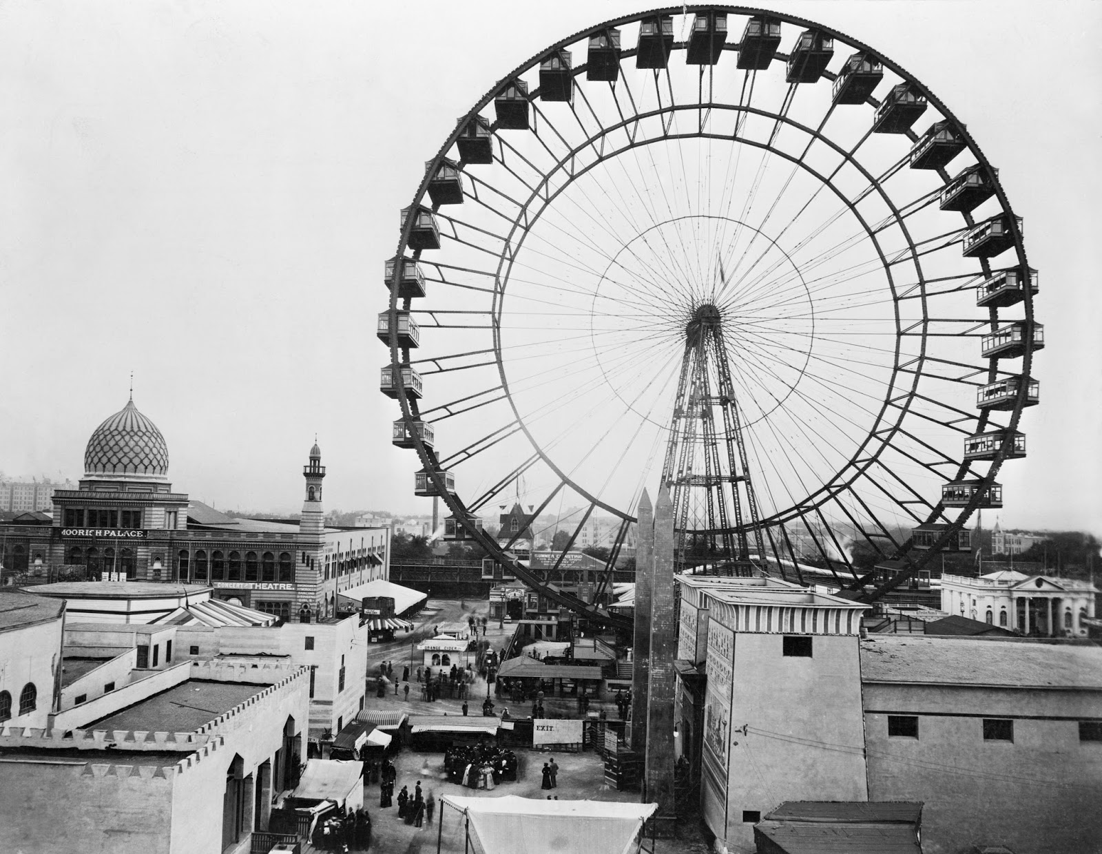 Inside the Apple: Postcard Thursday: The Ferris Wheel at ...