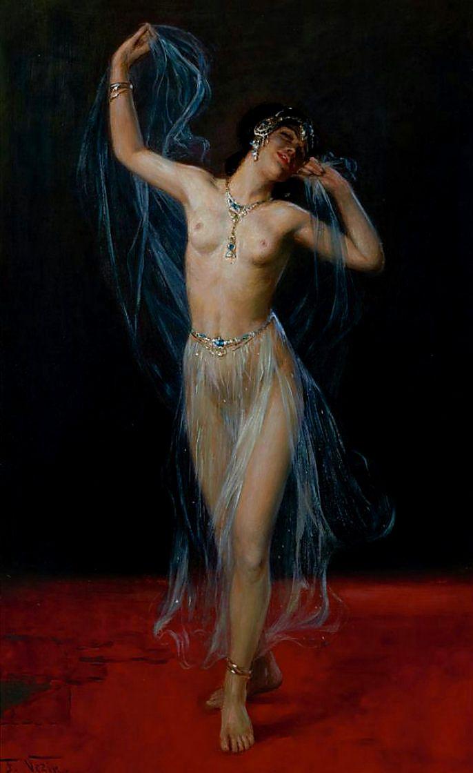 лижет жене эротические восточные танцы одинаково сосредоточенным лицом
