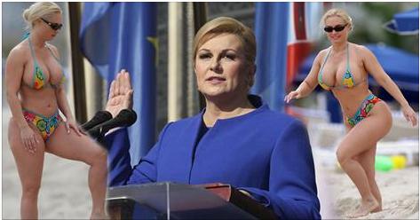 Impactante Vídeo Con 47 años.. !La presidenta de Croacia ...