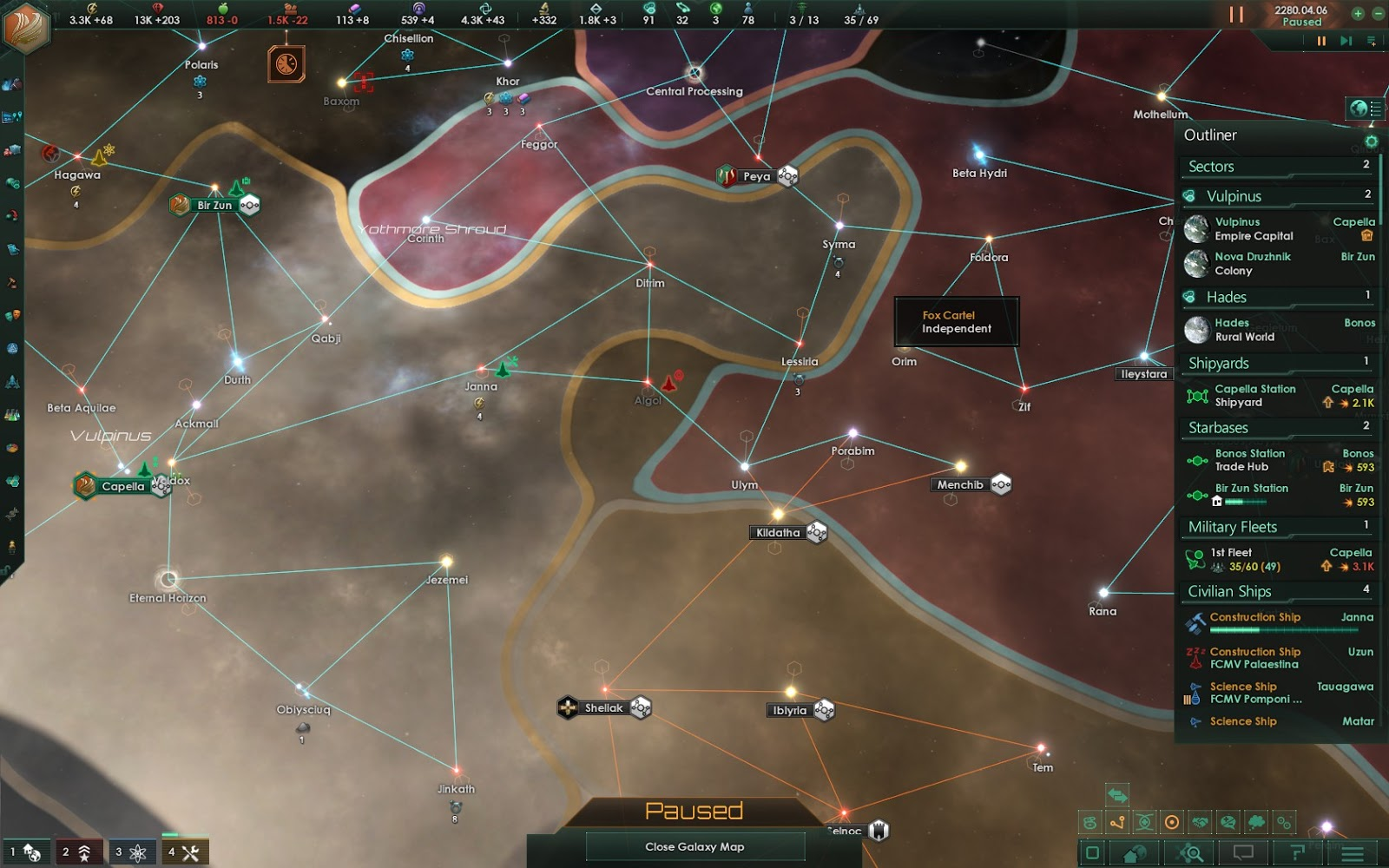 Gaming with SilentFox: Let's Play Stellaris: Part 20 - The