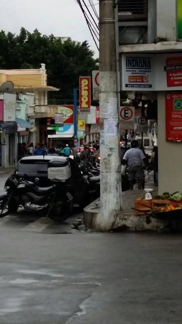 Tiros são disparados em via pública em Teófilo Otoni, MG