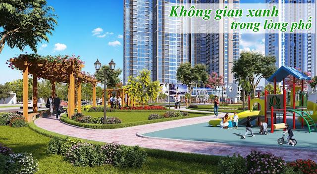 Tận hưởng cuộc sống tuyệt vời khi định cư tại Rose Town Hoàng Mai
