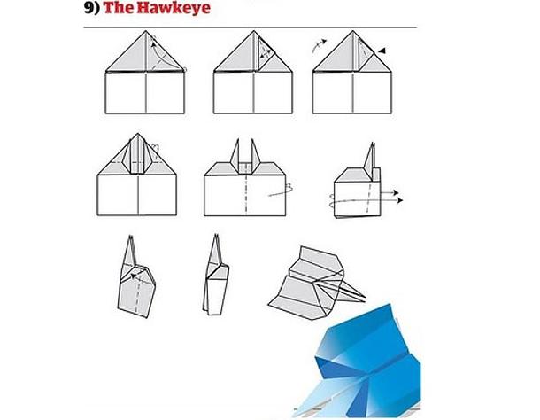 Well-known Como fazer avião de papel incrível para humilhar seus amigos [12  DO81