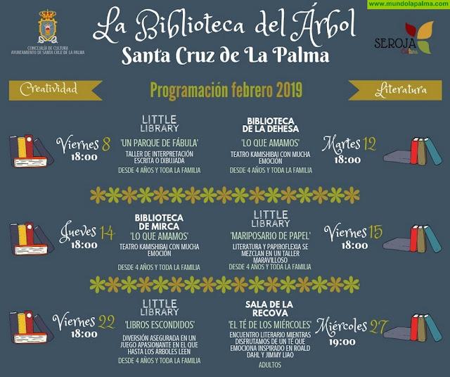 Regresa La Biblioteca del Árbol en Santa Cruz de La Palma