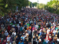 Wow, ini dia Lautan Massa Pendukung #2019GantiPresiden di Solo