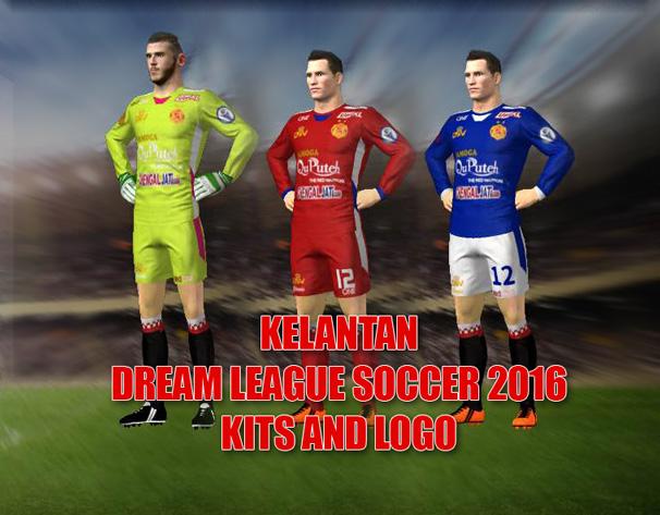 Kelantan Dream League Soccer 2016 Kits And Logo & FTS15