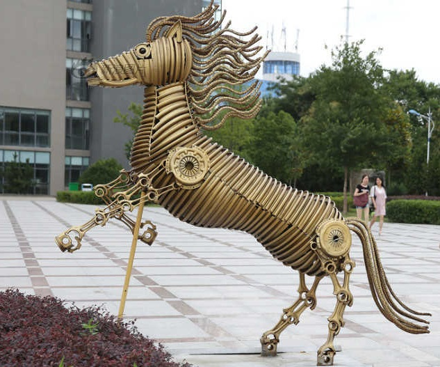 Recycled Art of Chinese Zodiac