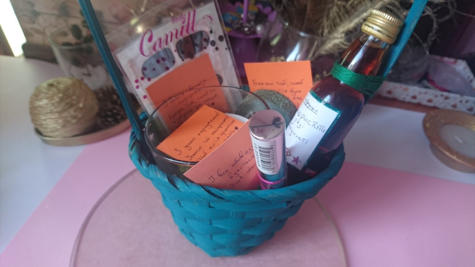 Which Basket Would You Like To Recieve As Gift Why So