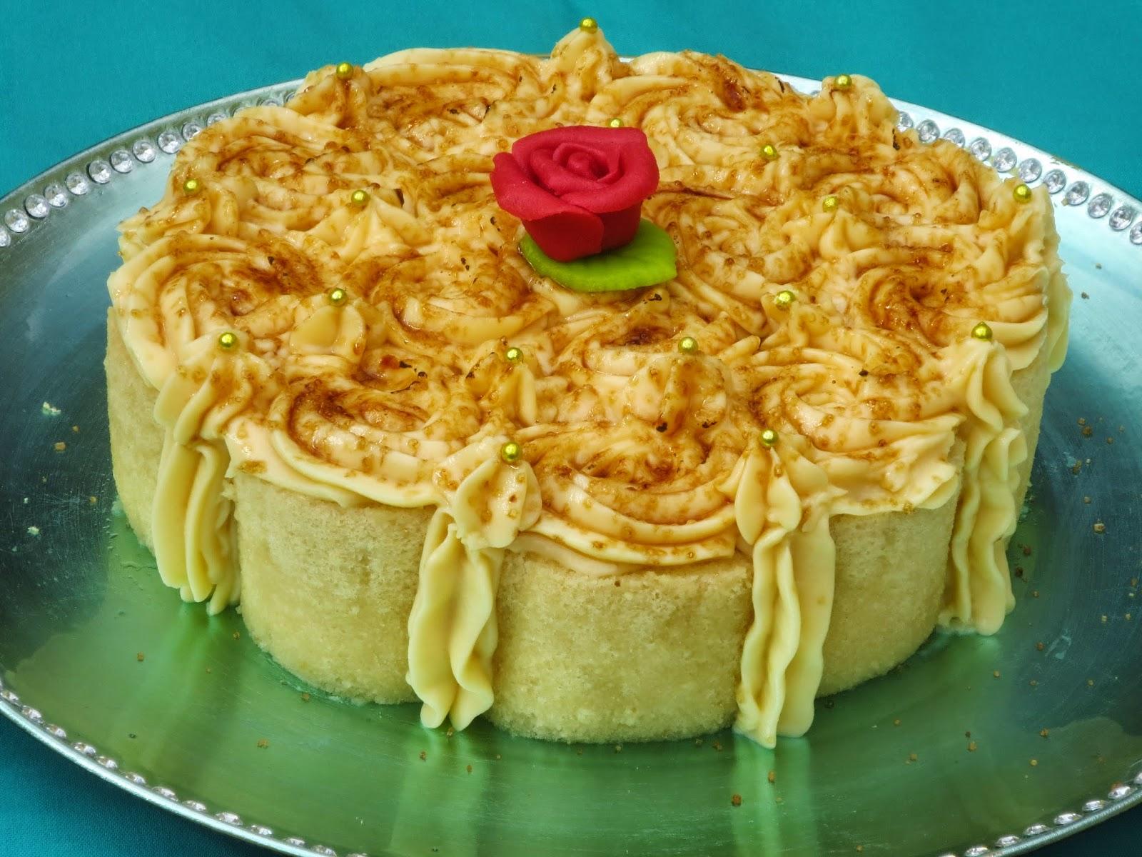 Tarta de piononos Ana Sevilla cocina tradicional