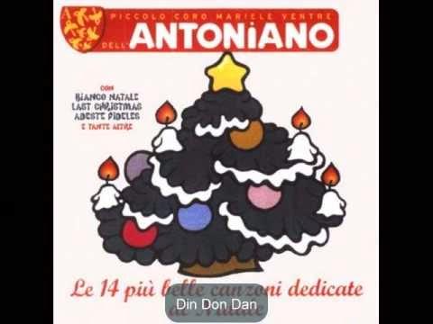Canzoni Di Natale Zecchino D Oro.Musica Informa Piccolo Coro Dell Antoniano Din Don Dan Jingle Bells