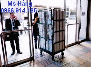 Lồng trữ hàng container,lồng lưới thép,pallet lưới giá rẻ