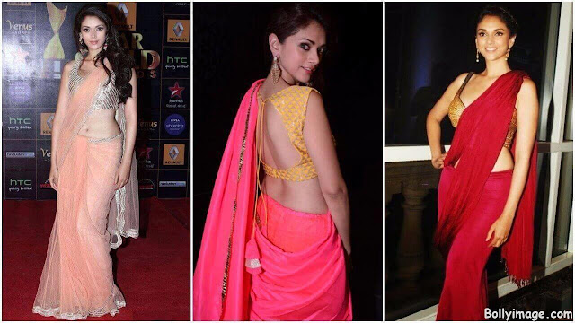aditi rao hydari in saree pic
