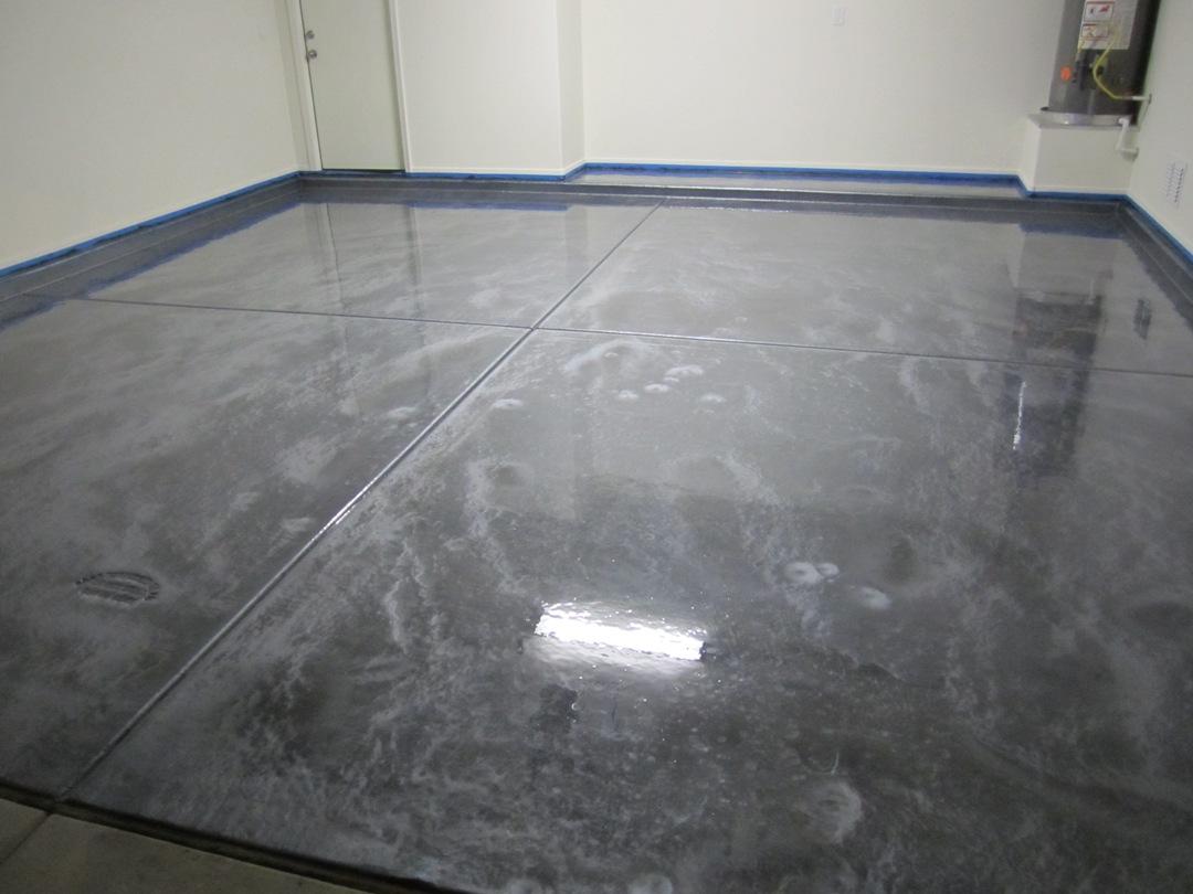 Epoxy Floor Paint : Pure metallic epoxy floor coating pictures