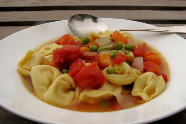 Souped up Tortellini