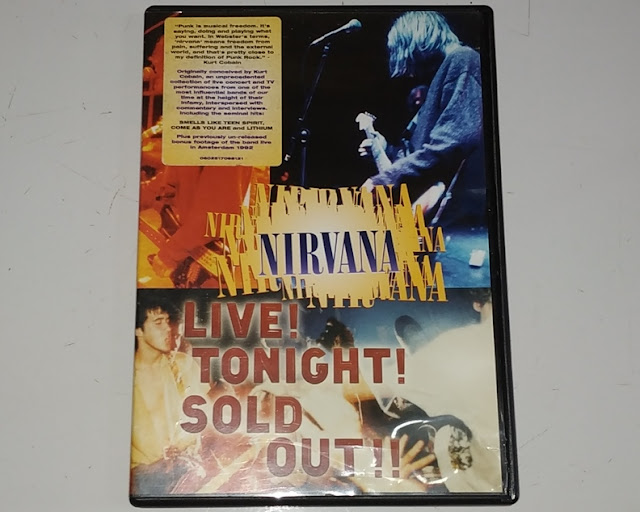 Dvd Nirvana - Live Tonight Sold Out