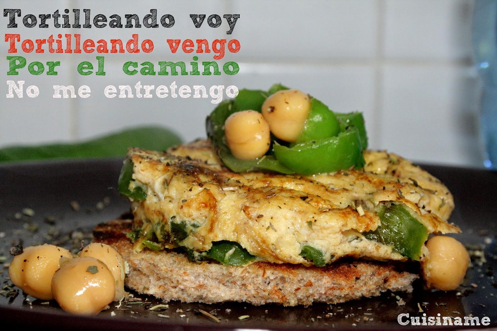 receta tortillas, tortillas, tortilla rellena, tortilla con pimientos, recetas de cocina, recetas originales, recetas fáciles, recetas ligeras