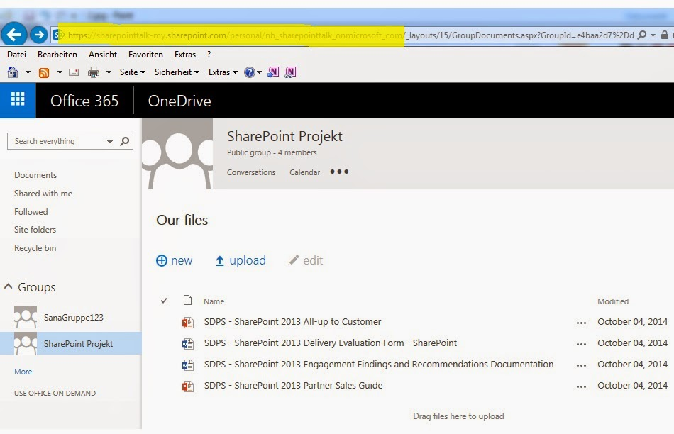SharePoint Talk: The anatomy of Office 365 Groups