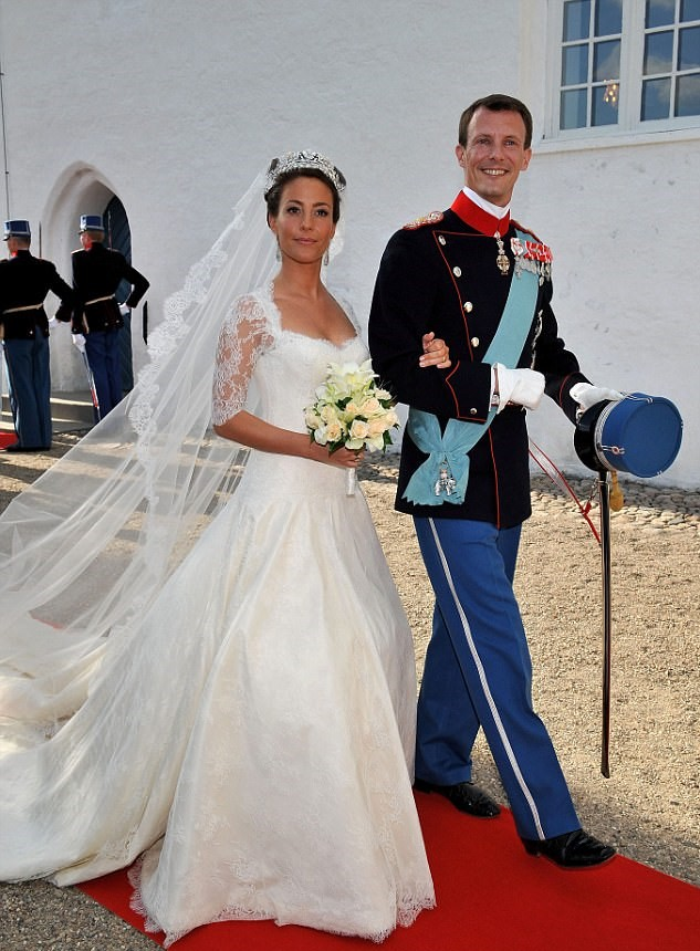 Royal Family Around the World: Princess Marie of Denmark paid a ...