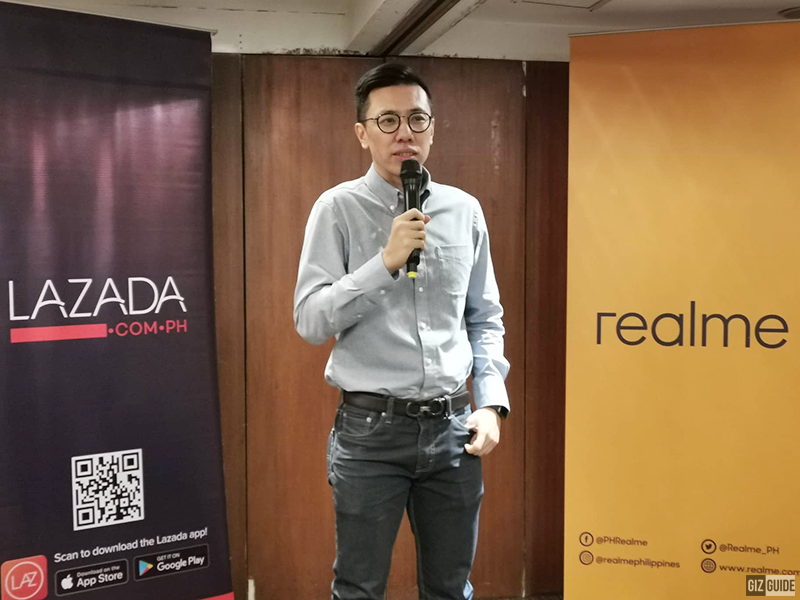 Jackie Chen, COO of RealMe Philippines