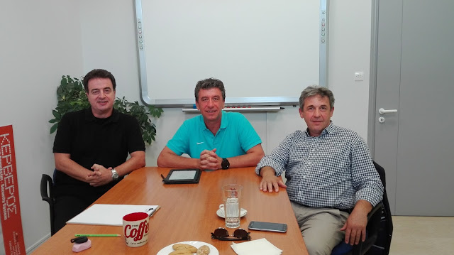 ΓΙΑΝΝΕΝΑ-Επίσκεψη Γ.Στέφου  στην εταιρεία πληροφορικής Terracom