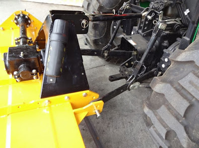 Maintenance for the WoodMaxx PTO Rotary Tiller